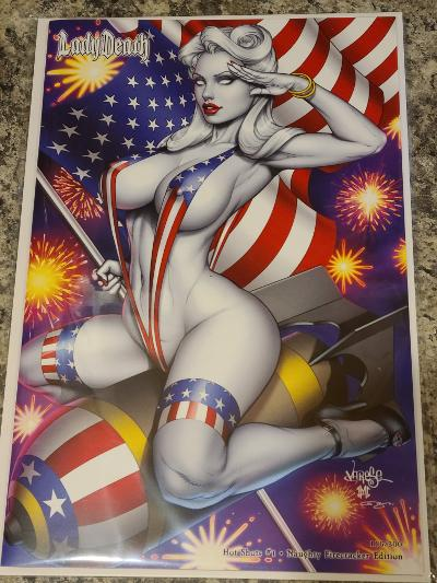 LADY DEATH HOT SHOTS FIRECRACKER EDITION NAUGHTY JOSE VARSE
