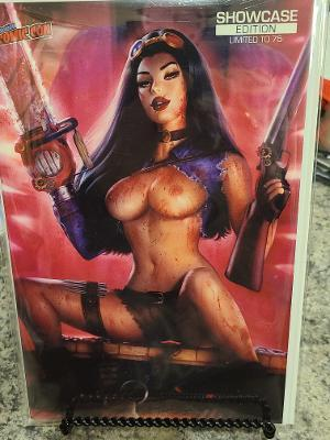 VAN HELSING VS LEAGUE OF MONSTERS SUN KHAMUNAKI BLOODY TOPLESS LTD 75