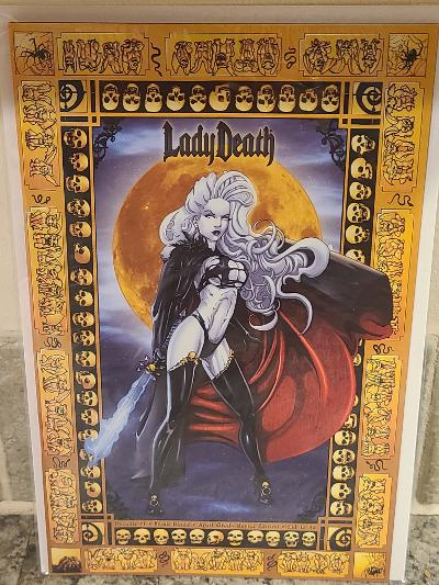LADY DEATH DREAMS #1 FRESH BLOOD APRIL GRADY-REYNA EDITION LTD 35