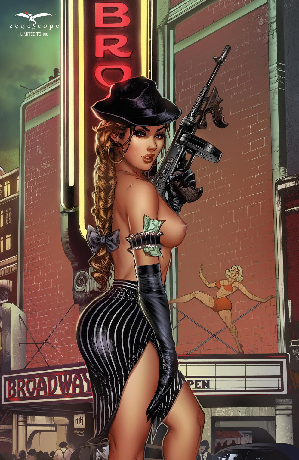 MIKE KROME Z RATED NYCC EXCLUISVE