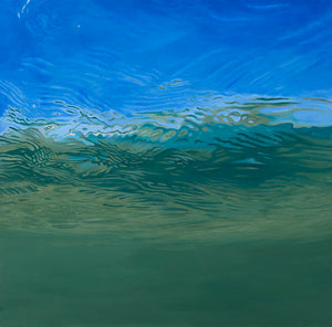 Bass in the Surf Zone (Triptych)