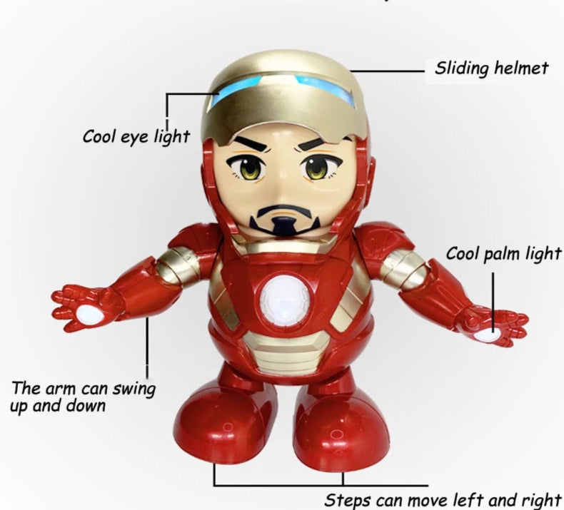 Smart Iron Man Marvel Action Robot Toy