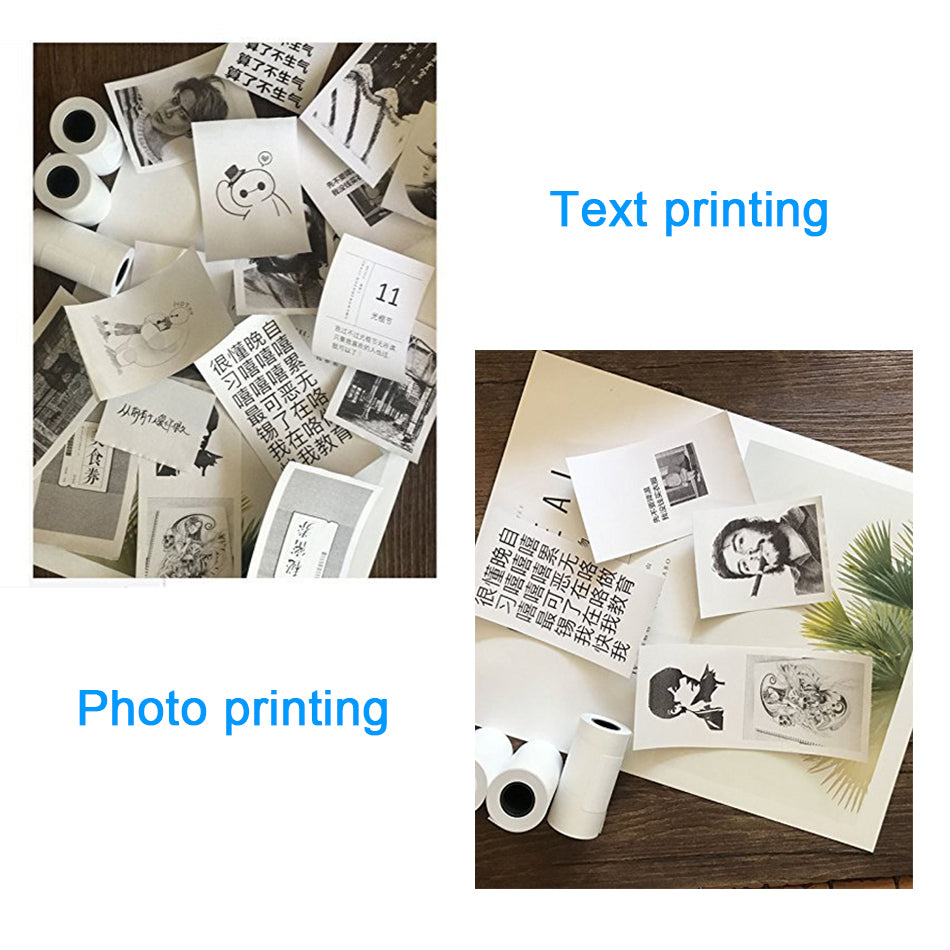 Portable Wireless Mini Photo Printer
