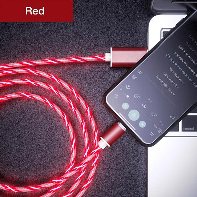 LED Glow Magnetic Phone Charge Cord (ALL)