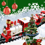 Santa's Christmas Electric Train with Railway Set