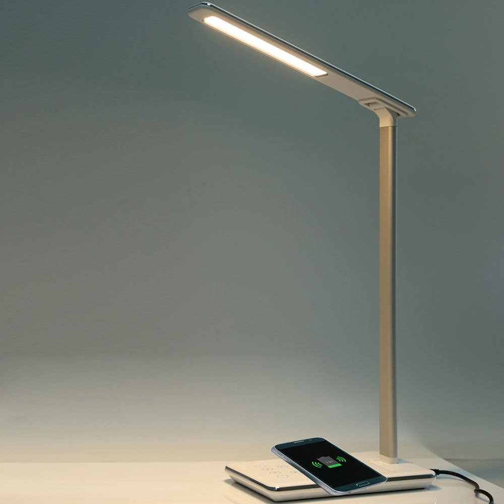 Smart LED Desk Lamp ( With Wireless Phone Charging)