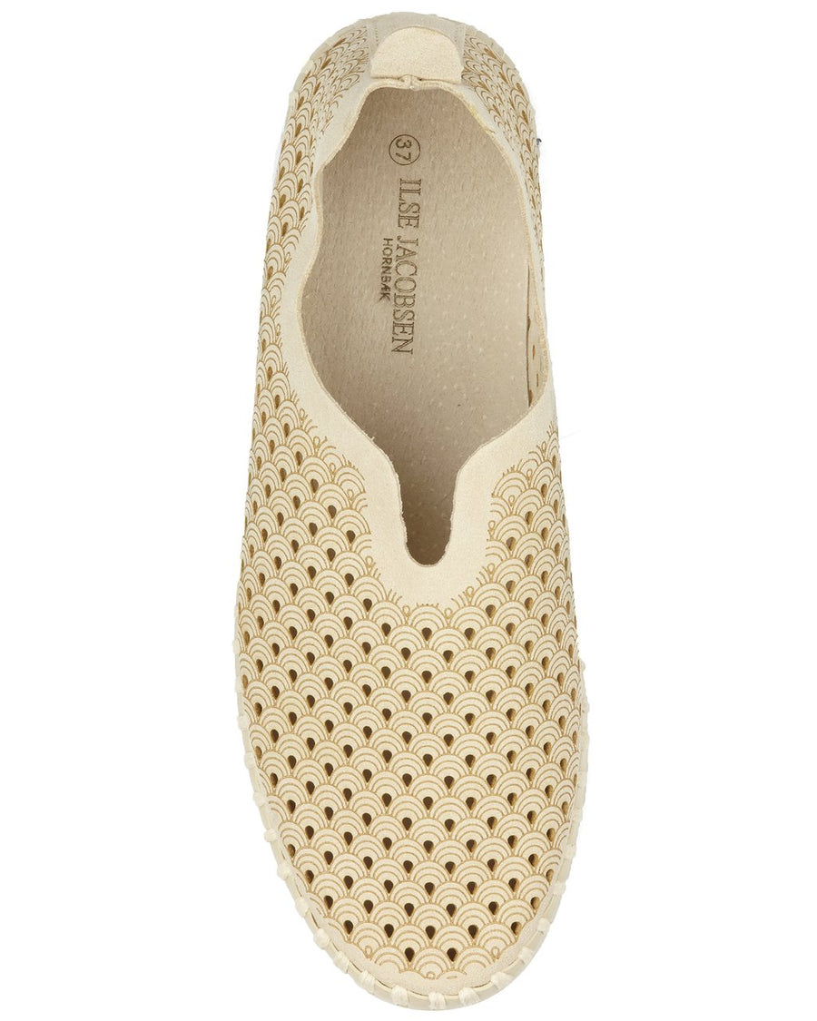 Ilse Jacobson Tulip latte shoe