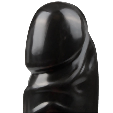 Jr. Veined Double Header Dildo - Zwart