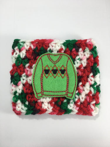 Argyle Mouse Sweater