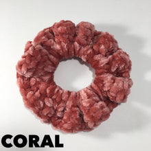 Load image into Gallery viewer, Crochet Velvet Scrunchies