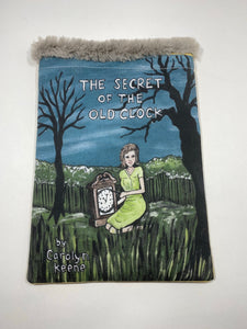 Nancy Drew handmade book/tablet sleeve