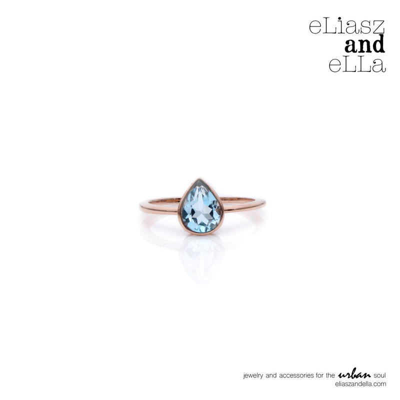 "Eliasz and Ella ""Seaside"" Ring - Saradee Boutique"