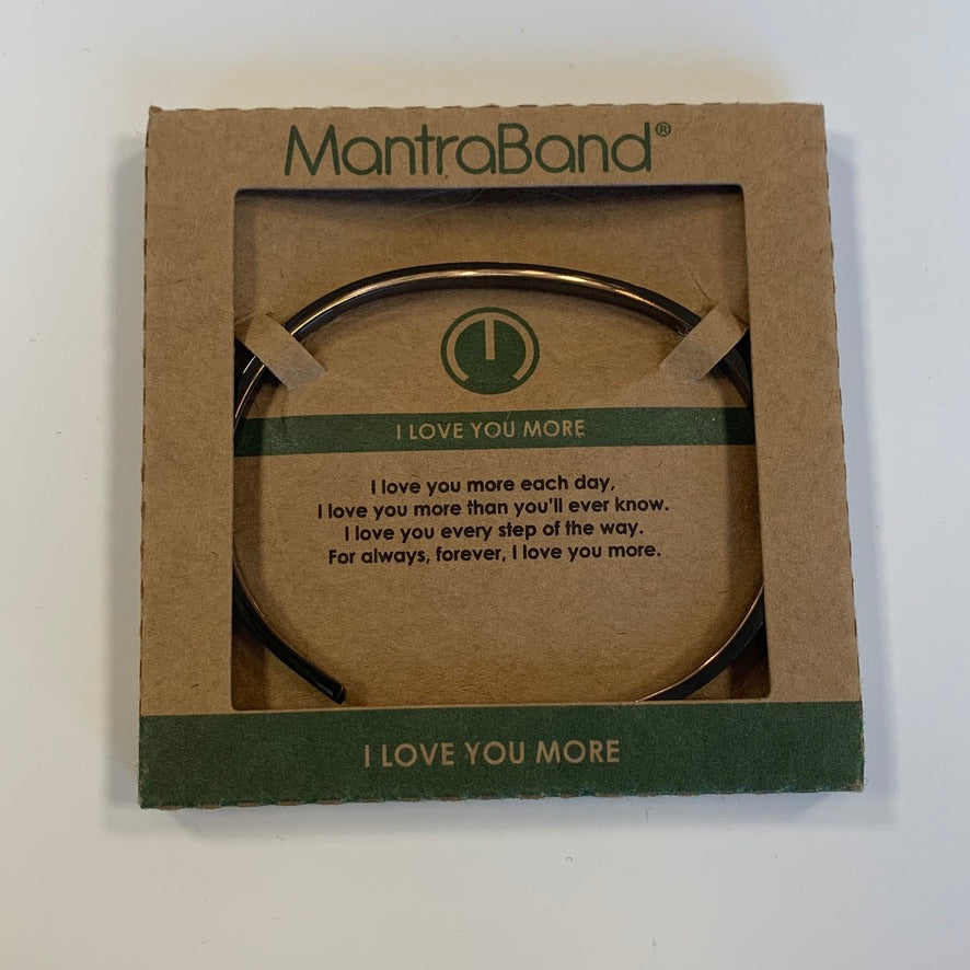 MantraBand Moon Grey Bracelet - Saradee Boutique