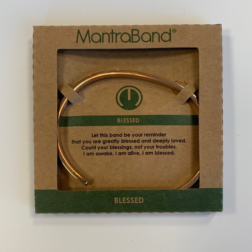 MantraBand Rose Gold Bracelet - Saradee Boutique