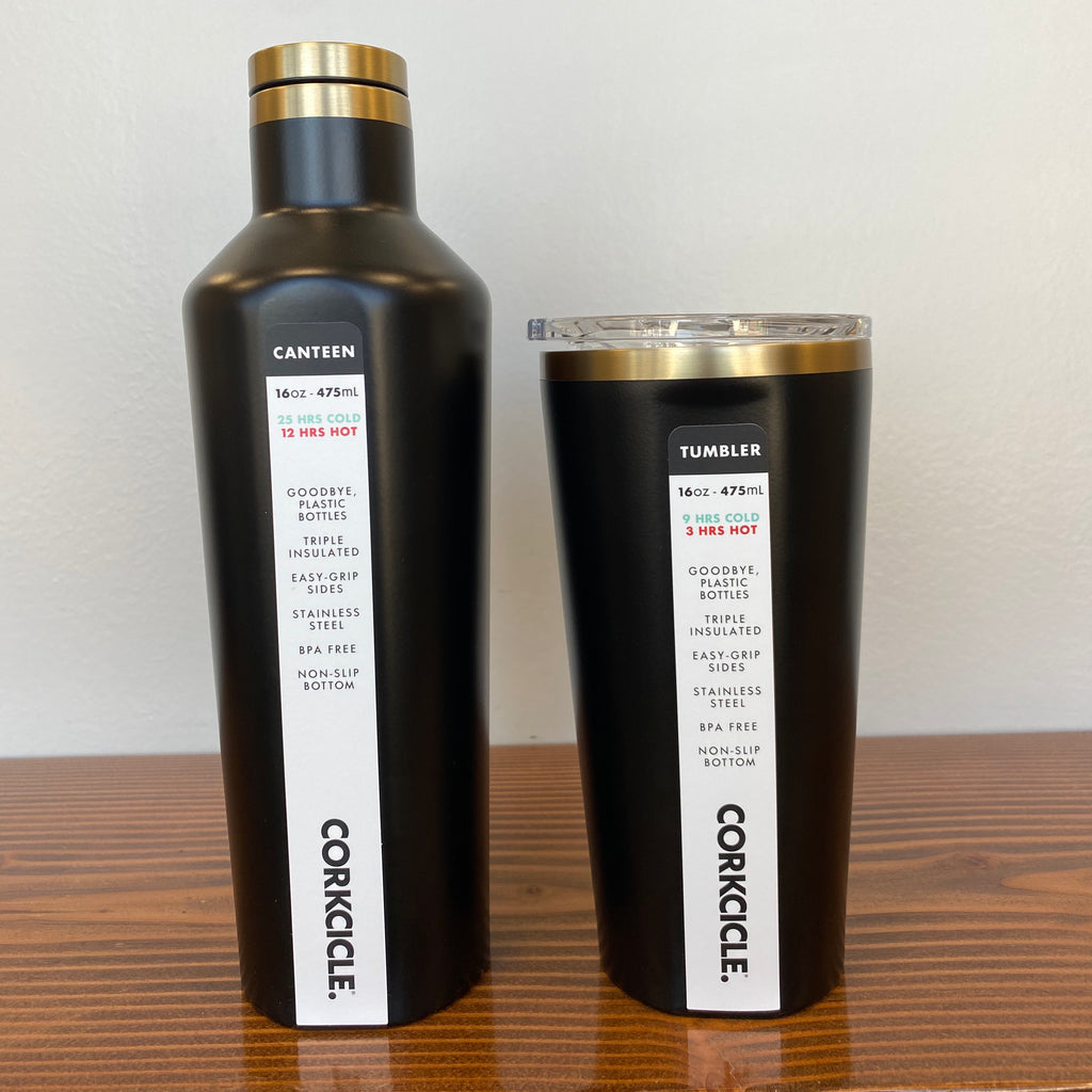 Corkcicle- Black & Gold VIP - Saradee Boutique