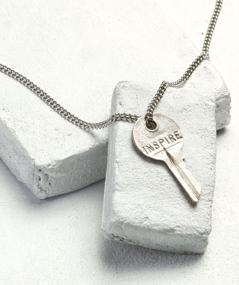 The Giving Keys Silver Classic Key Necklaces - Saradee Boutique