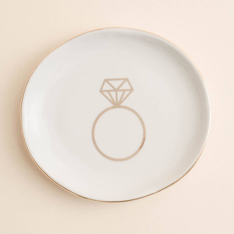 Engagement Ring Jewelry Dish