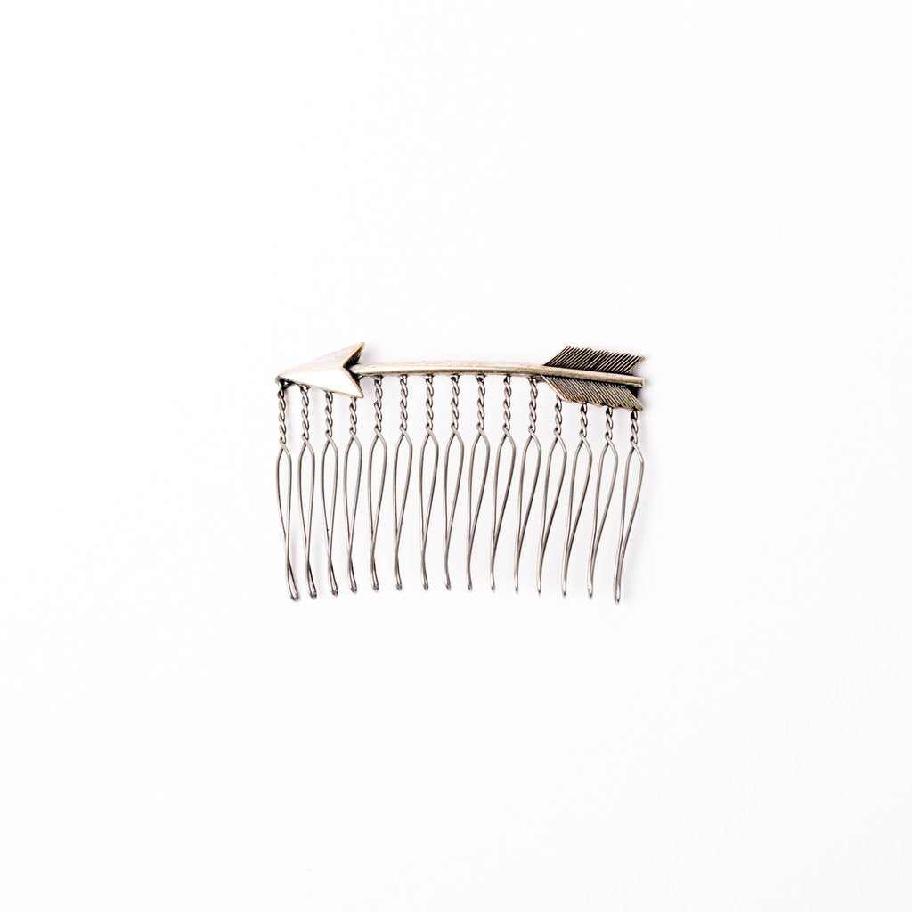 Medium Hair Comb - Arrow - Saradee Boutique