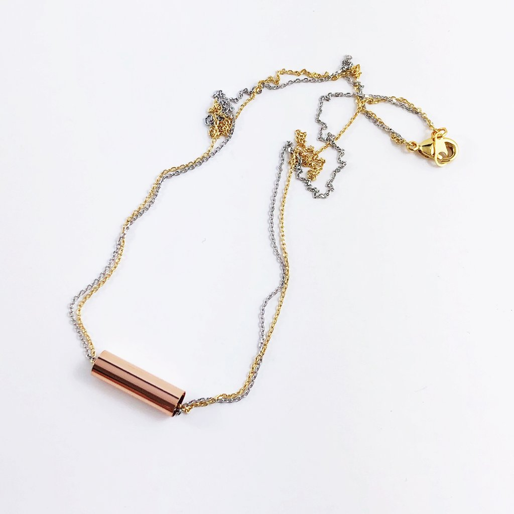 Tube Ride Necklace - Saradee Boutique