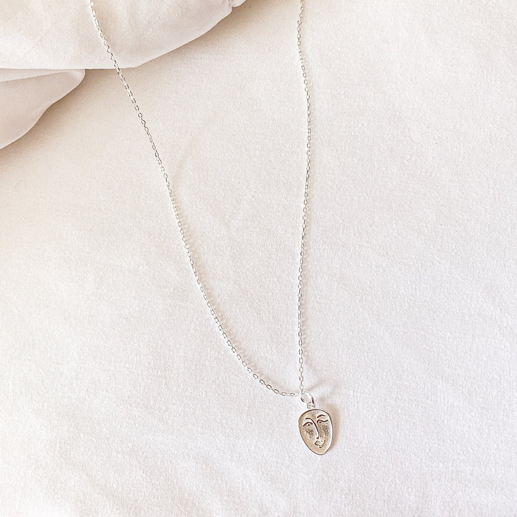 Believe Necklace Silver - Saradee Boutique