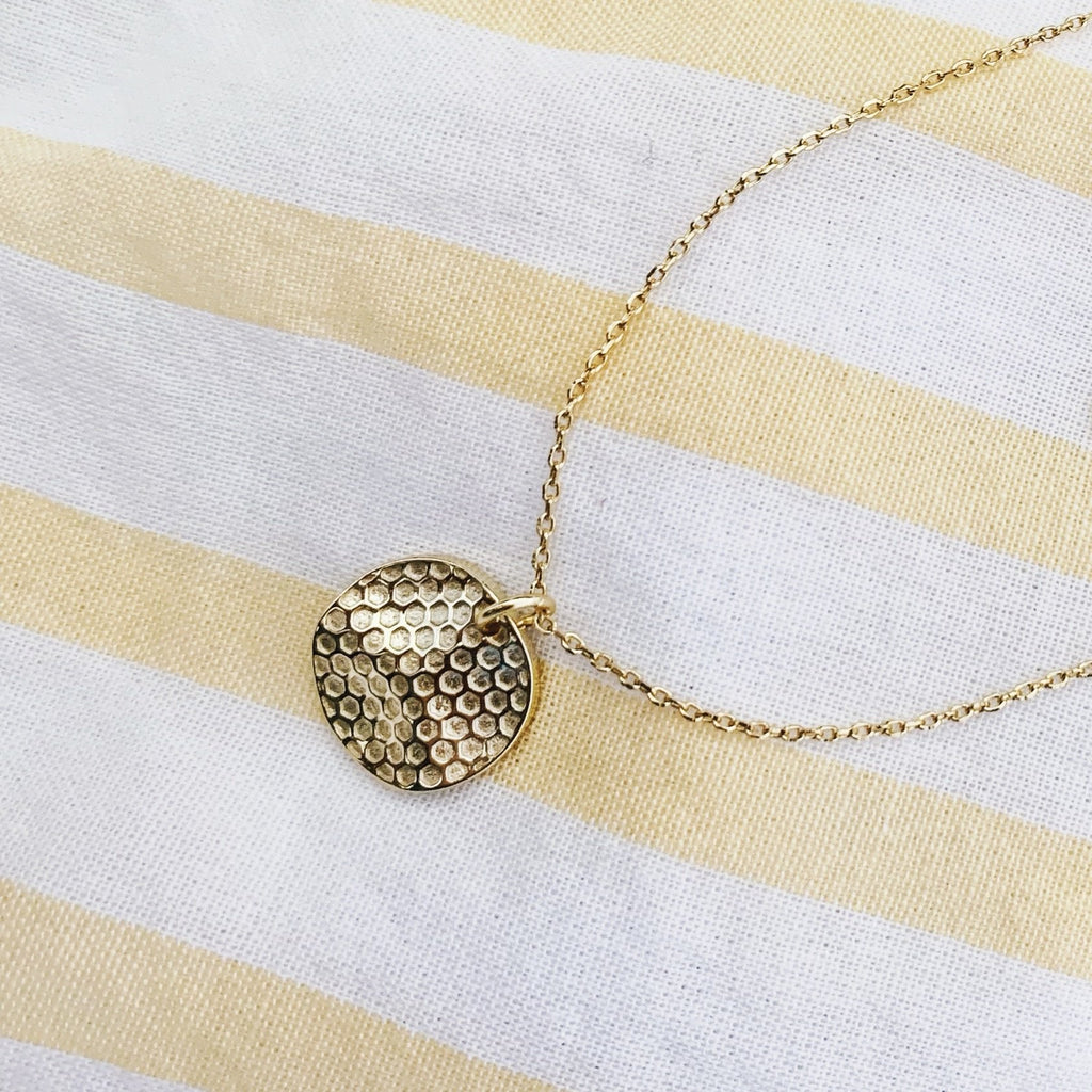 Honeycomb Necklace - Saradee Boutique
