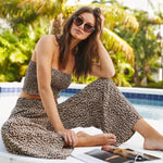 The Leopard Tube Top | Koy Resort