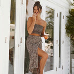 The Leopard Wrap Skirt | Koy Resort