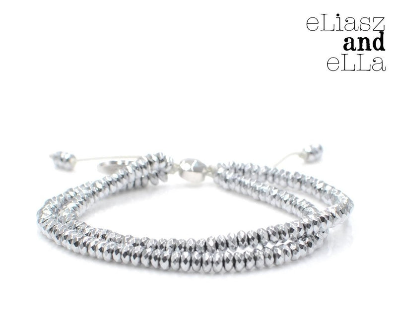 "Eliasz and Ella ""Nightshine""Bead Bangin' Bracelet"
