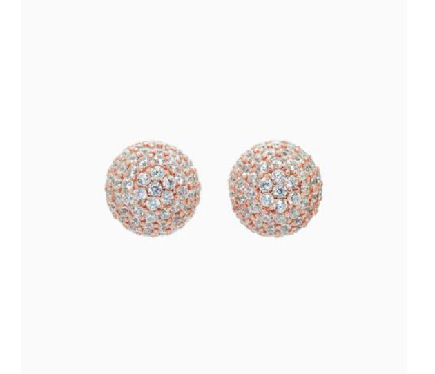 Sparkle Ball Pave Studs 8mm