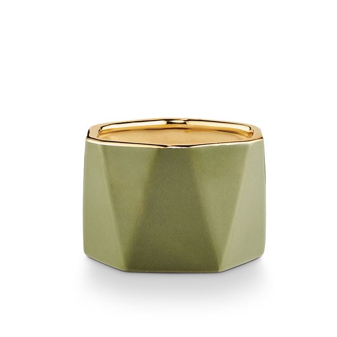 Electroplated Dylan Ceramic Candle