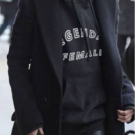 Legendary Female Oversized Hoodie
