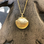 Shell Locket - Saradee Boutique