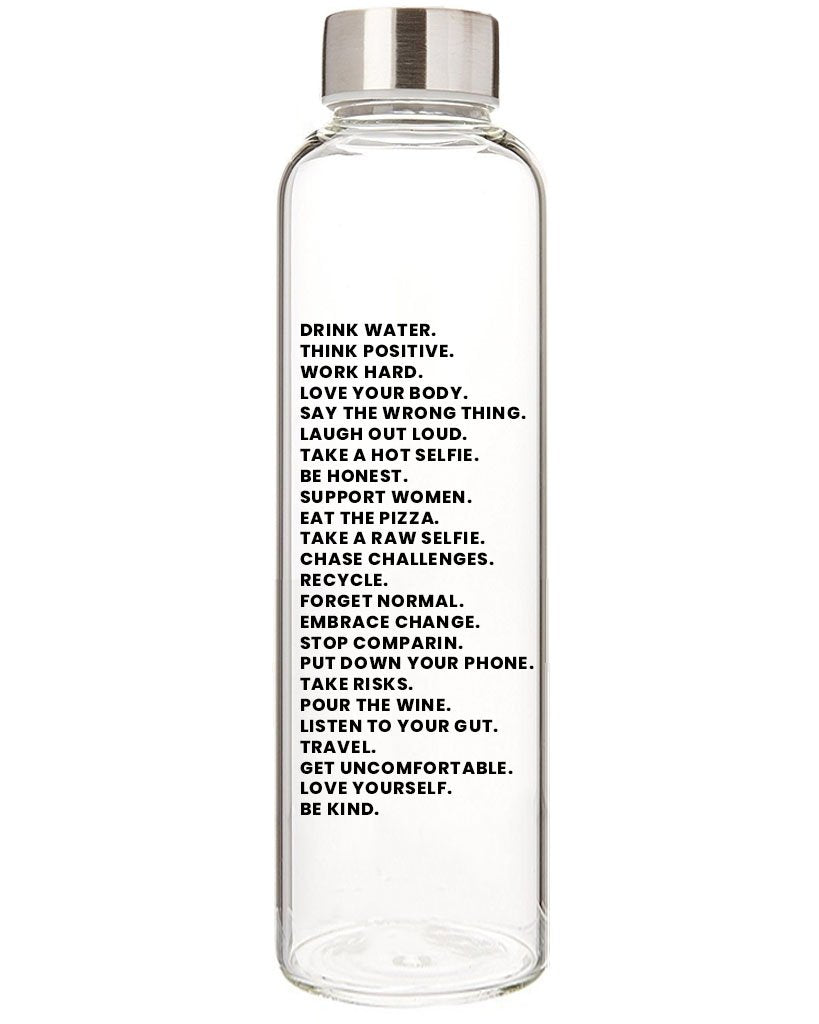 Mantra Water Bottle - Saradee Boutique