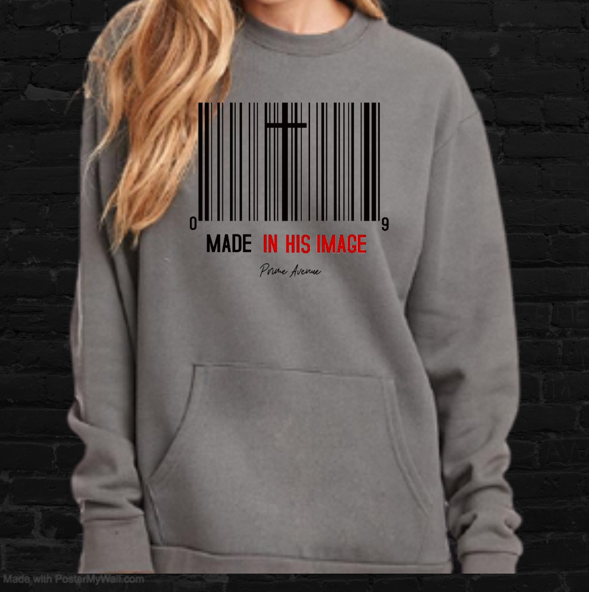 Made In His Image Sweatshirt