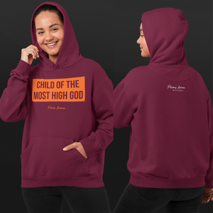 Maroon and Orange CMHG Hoodie