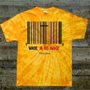Tie Dye Made In His Image T-Shirt