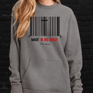 Made In His Image Sweatshirt w/ Front Pocket