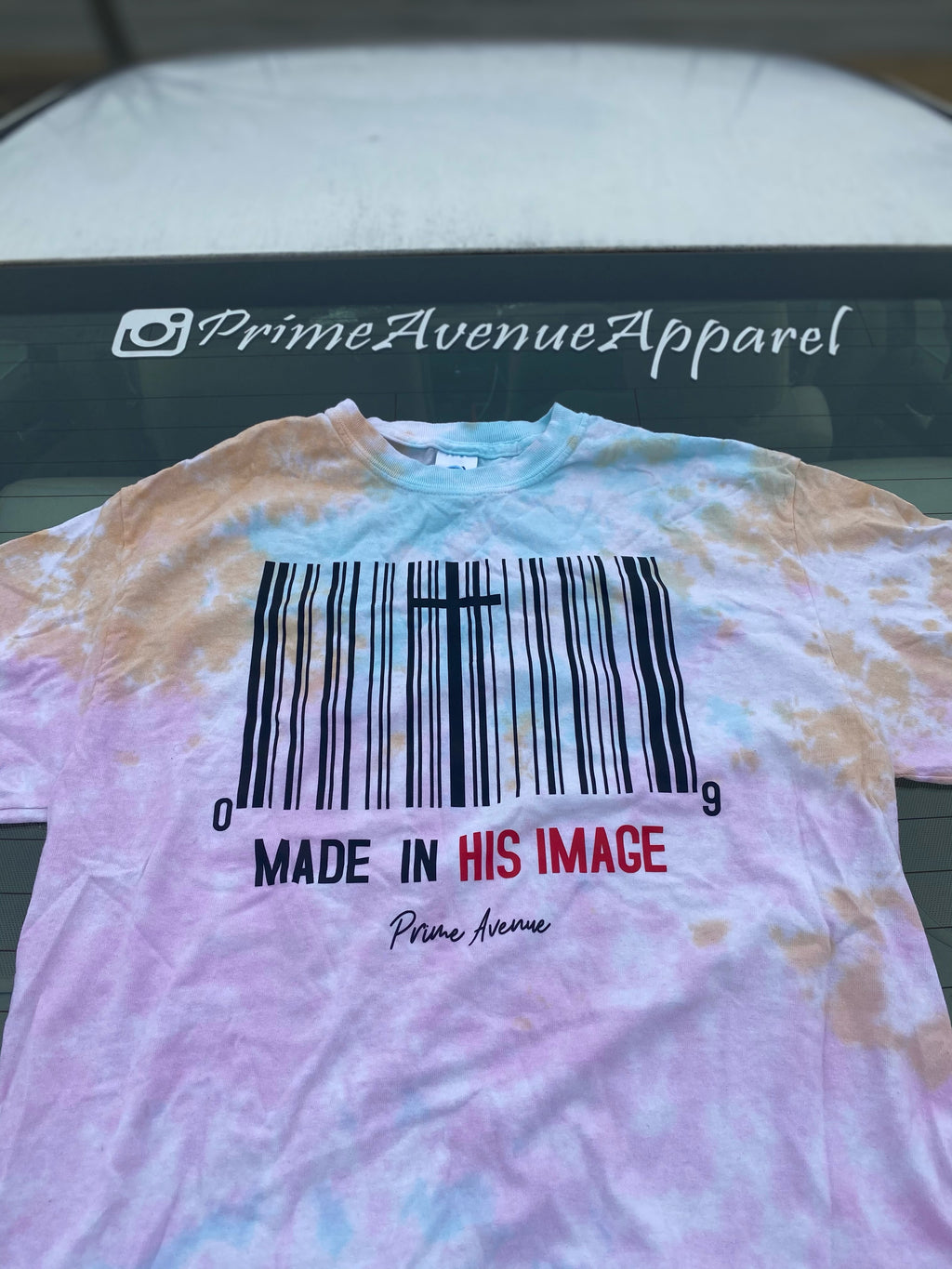 Snow Cone Made In His Image Tee