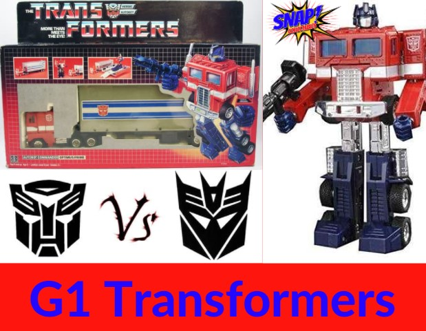 Vintage Transformers Toys
