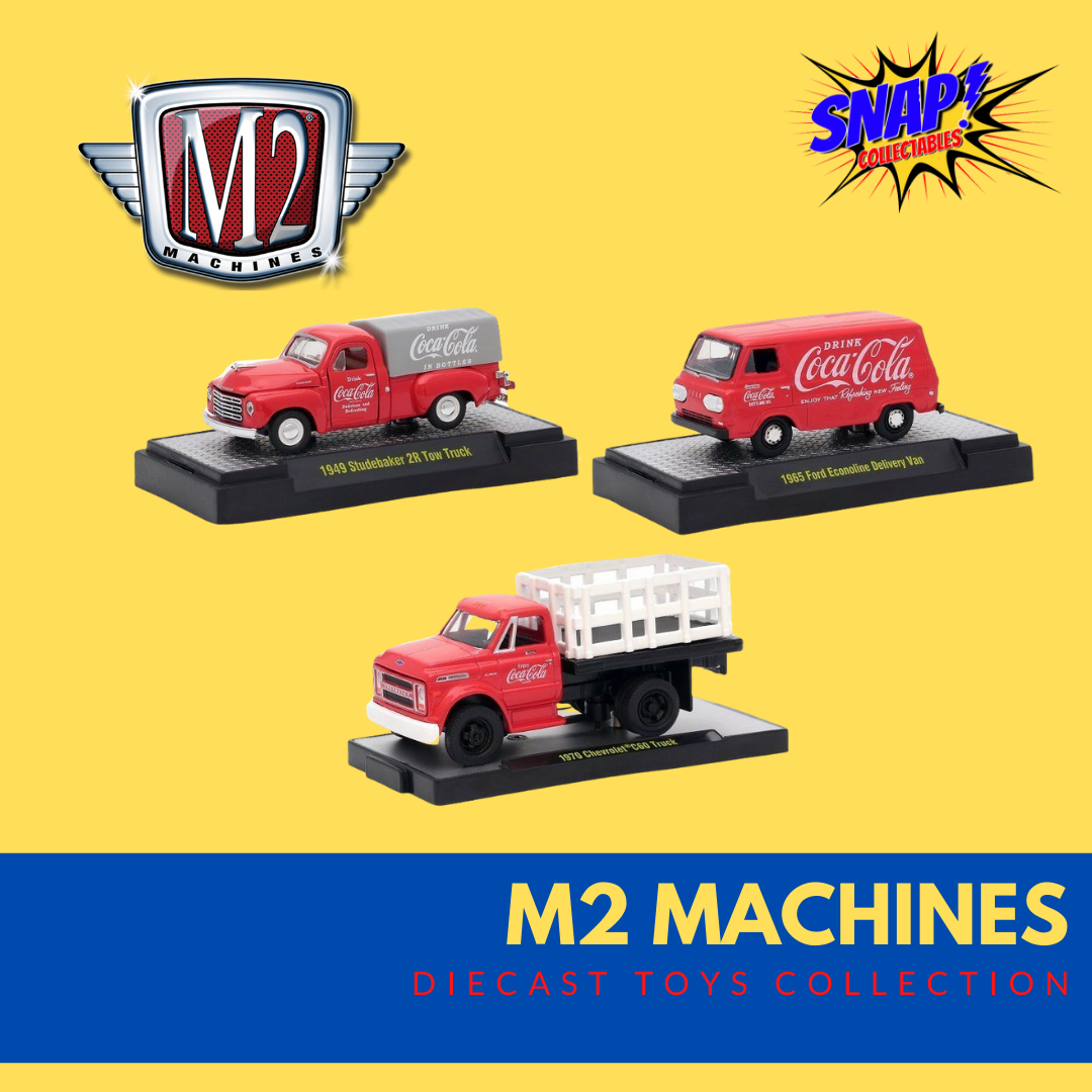 M2 Machines Diecast Toys