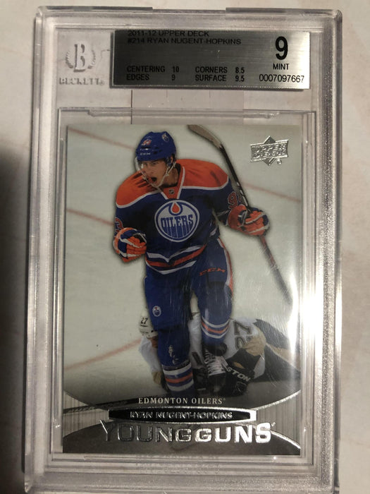 2011-12 Upper Deck #214 Ryan Nugent-Hopkins YG RC