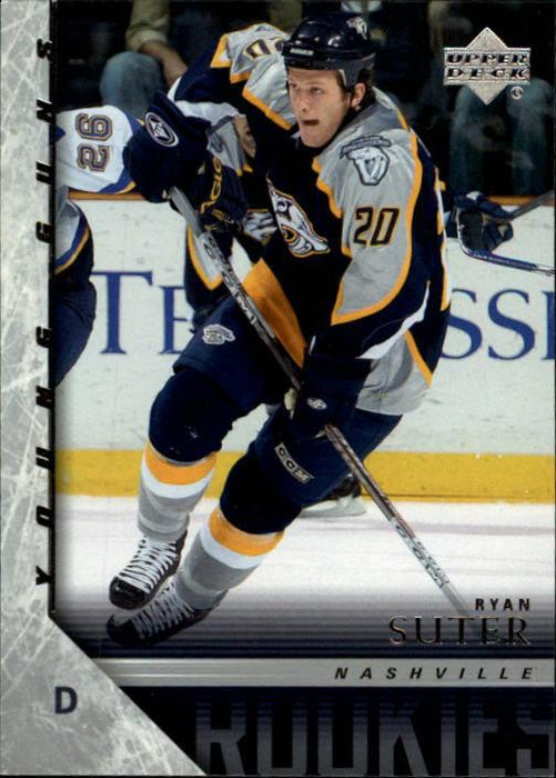 2005-06 Upper Deck #454 Ryan Suter YG RC