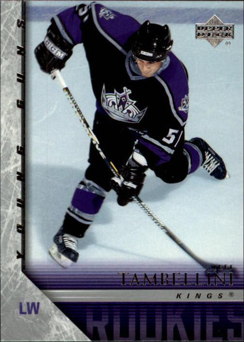 2005-06 Upper Deck #486 Jeff Tambellini YG RC