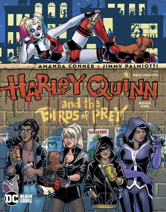 HARLEY QUINN & BIRDS OF PREY #1 (OF 4) (MR)