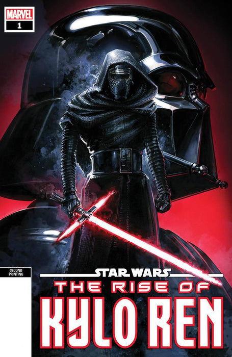 STAR WARS RISE KYLO REN #1 (OF 4) 2ND PTG CRAIN SPOT COLOR V