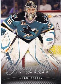 2011-12 Upper Deck Canvas #C112 Harri Sateri YG