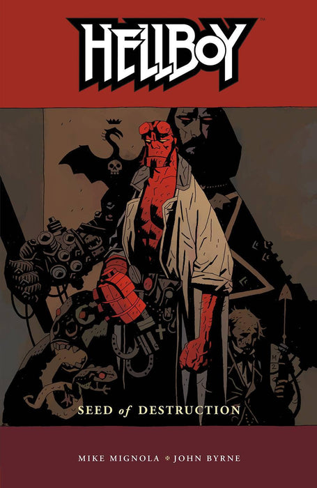 HELLBOY TP VOL 01 SEED OF DESTRUCTION