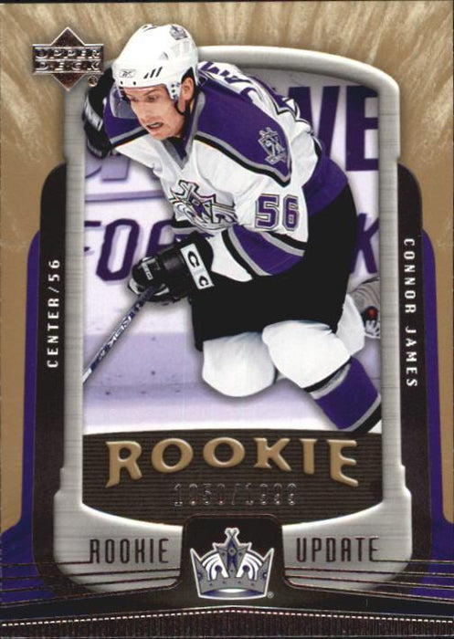 2005-06 Upper Deck Rookie Update #144 Connor James RC