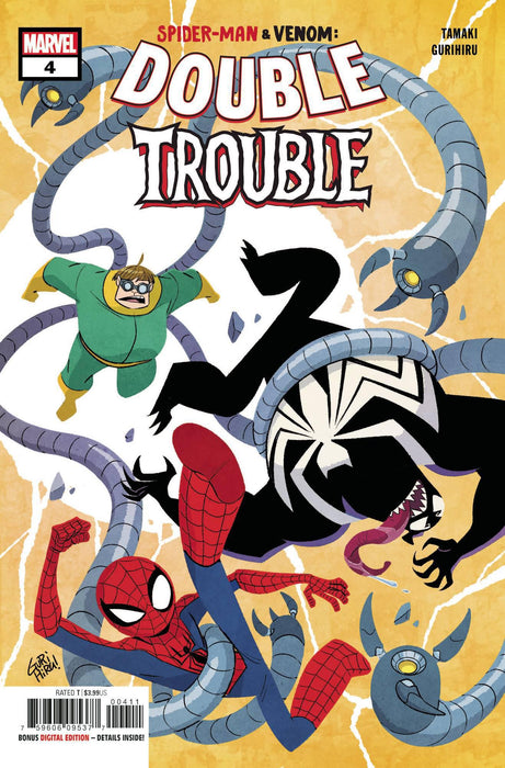 SPIDER-MAN & VENOM DOUBLE TROUBLE #4 (OF 4)