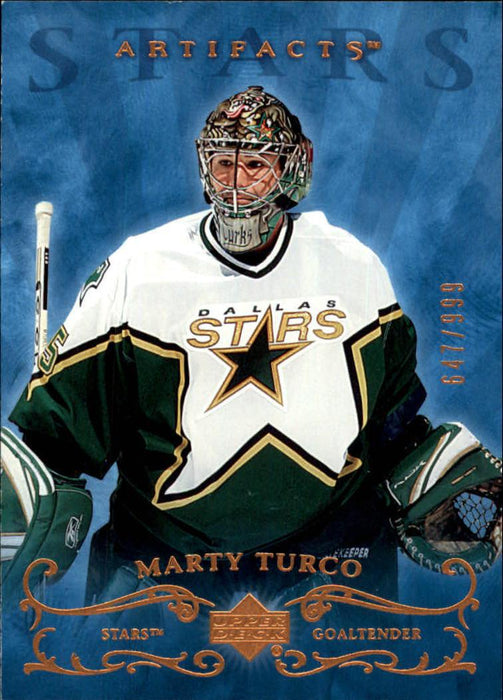 2006-07 Artifacts #165 Marty Turco S